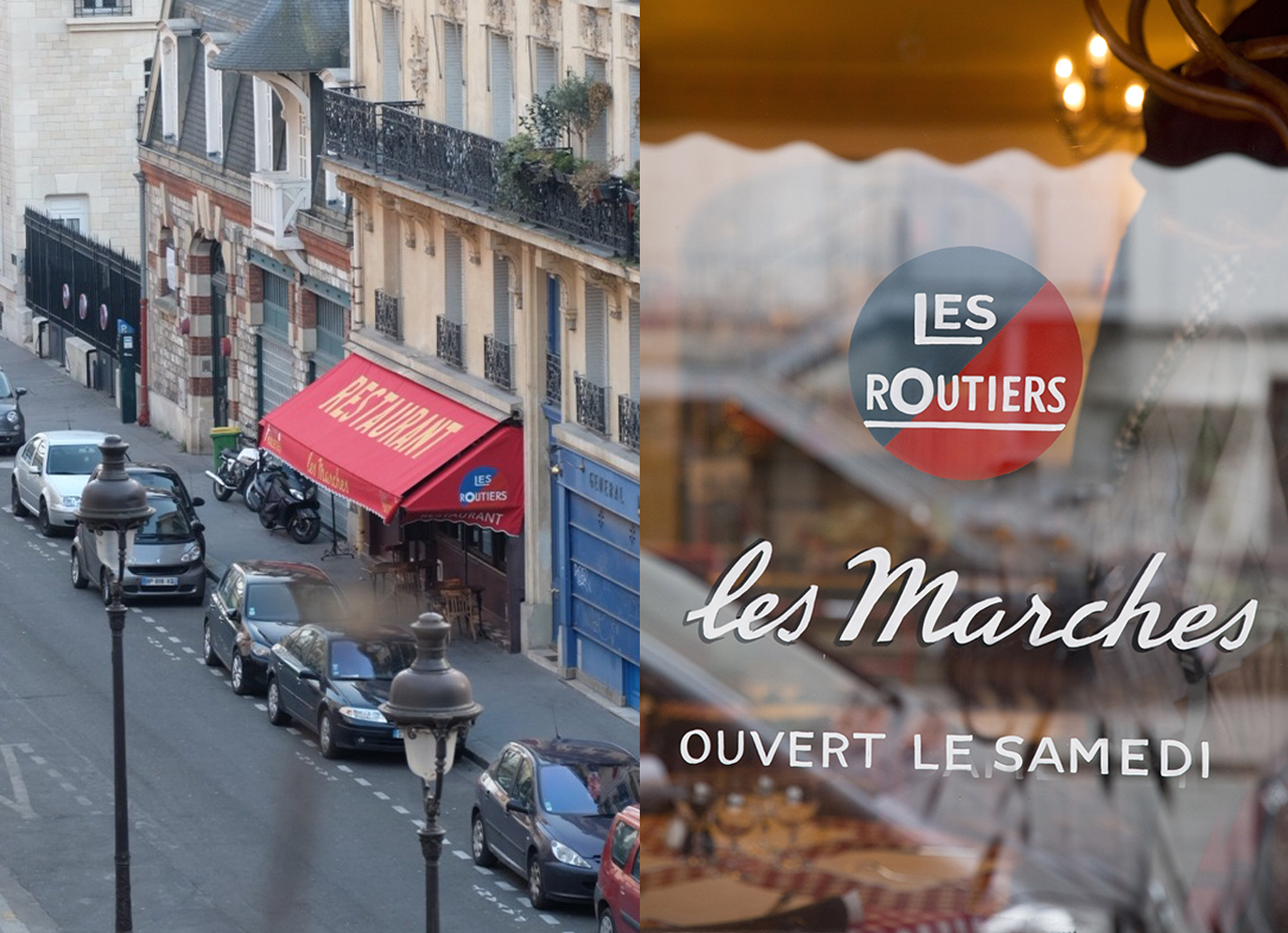 Les Marches Restaurant Routier Paris
